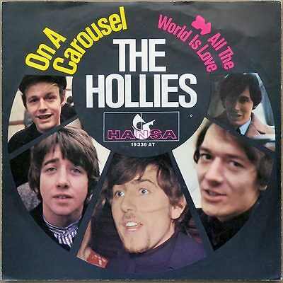 "7"" The Hollies - On A Carousel (1) - Deutschland 1967 - picture cover"