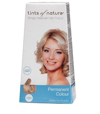 Tints of Nature 10N Natural Platinum Blonde Permanent Hair Colour