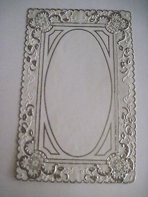 Vintage Antique 1800's Lace Sheet For Making Valentine Cards or Other Crafts *