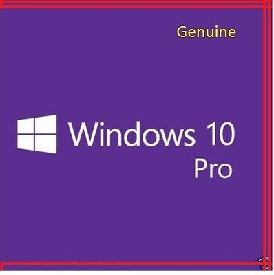 Windows 10 Pro Professional 64 & 32 bit FULL Download License