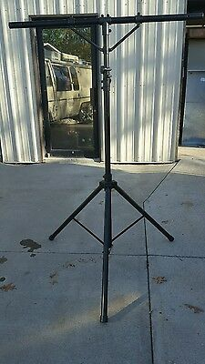 Odyssey LTP2 T - Bar 12 - Ft Lighting Tripod Stand With Support Bars & Bolts