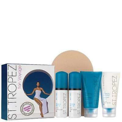 St Tropez Tan Voyage Ultimate Holiday Tan Gift Set - BRAND NEW BOXED - UK