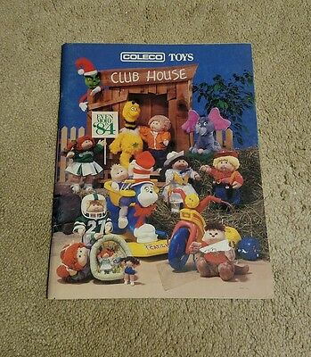 Catalog 1984 Coleco Toys Toy Fair Catalog 80 Pages Excellent