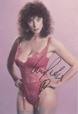 Kay Parker Porn Star Legend (SEXY) RARE VINTAGE SEE THRU CANDID SIGNED RP 8x10!!