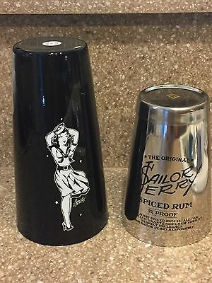 Sailor Jerry Spiced Rum Metal Shaker