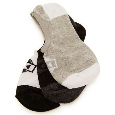 NEW Loosekid Womens 3 pack Assorted Casual Ladies Fly No Show Ankle Socks 3pk