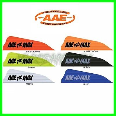 AAE Pro MAX Vanes for Archery Arrows Compound and Recurve Bow
