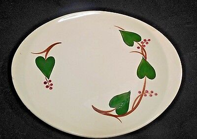 Blue Ridge Stanhome Ivy  Platter   13 1/2 in