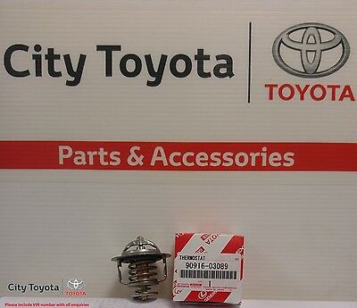 New Toyota Genuine Thermostat Multiple Models 1/90-Current 9091603089