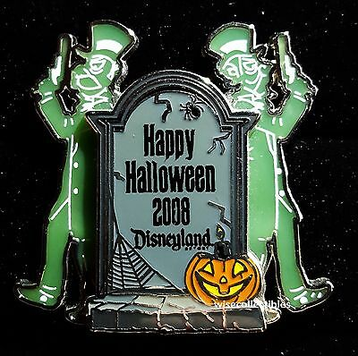 Disney The Haunted Mansion Happy Halloween 2008 Tombstones Duellers LE Pin