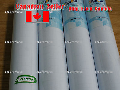 """18"""" x 55 yards Clear Transfer Paper Film for Vinyl Graphics Application 1 Roll"""