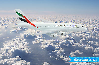 Emirates Airbus A380-800 Superjumbo 1:500 die-cast toy model A380 aircraft