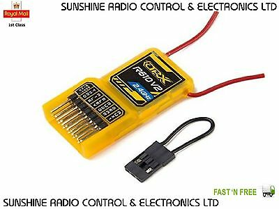 RC Orange Rx R610 Receiver V2 Dsm2 Compatible 6ch 2.4ghz Air RX W/Cppm Rc Plane