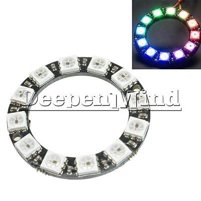 RGB LED Ring 12Bit WS2812 5050 RGB LED Integrated Drivers Module For Arduino