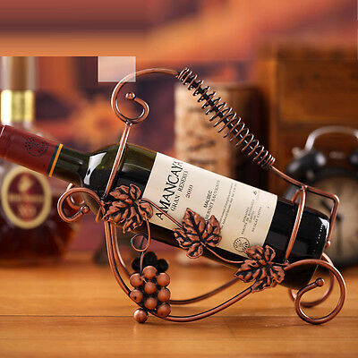 Red Wine Bottle Holder Rack Storage