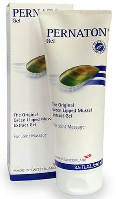 Pernation mussel extract Gel 250ml non greasy joint massage