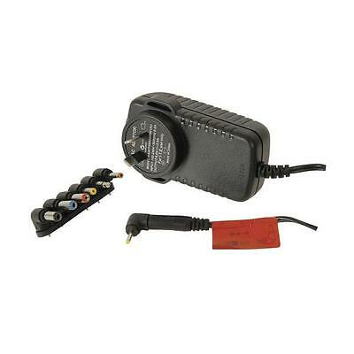 AC 240V to DC 9V 3A 3000mA Switchmode Power Supply Adapter Converter w/7 Plugs