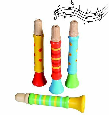 Traditional Wooden Whistle - Boys, Girls, Childrens, Childs, Kids Christmas Gift