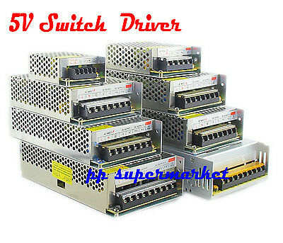 AC110V-220V TO DC 5V 2A 5A 10A 20A 30A 40A 50A 60A 70A Switch Power Supply Drive
