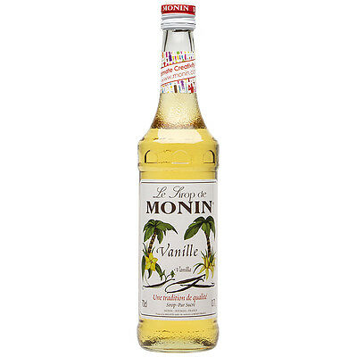 NEW Monin Vanilla Syrup 700ml