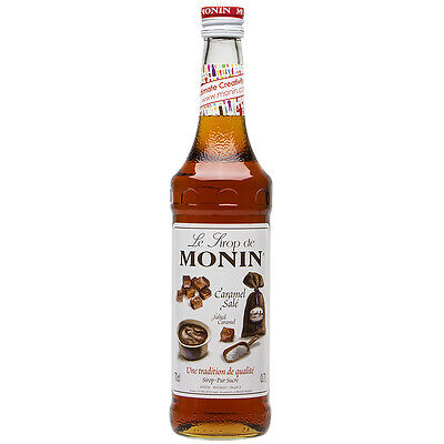 NEW Monin Salted Caramel Syrup 700ml