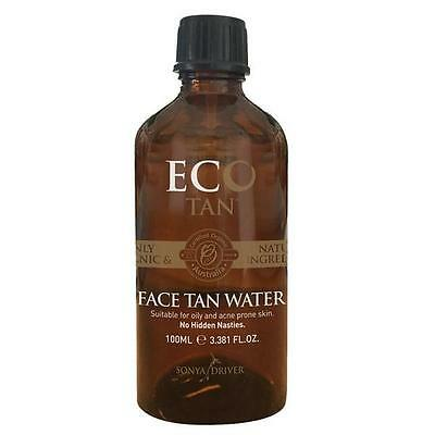 Eco Tan Certified Organic Face Tan Water (100ml) Self Tan - Free Shipping