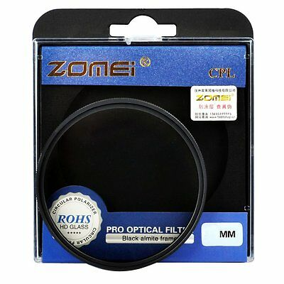 Zomei 77mm Circular Polarizing CPL FILTER for Canon EF-S 10-22mm/24-105mm Lens