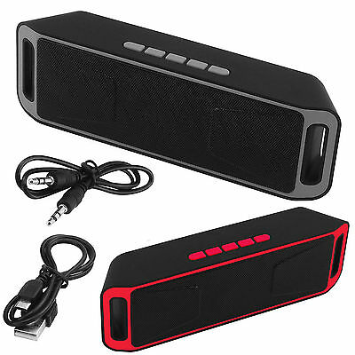 Bluetooth Wireless Speaker SUPER BASS Stereo Portable For Smartphone Tablet PC A
