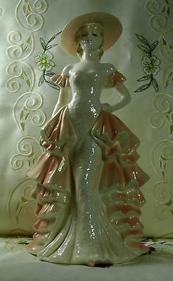 "Coalport "" Cafe Royal "" Figurine Ladies Of Fashion Collection 1991-97"