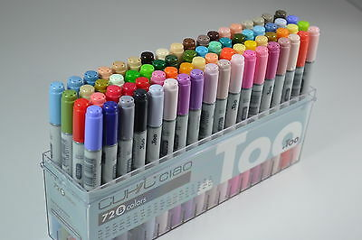 Copic Ciao Markers 72 set B Drawing Painting Art High Quality New