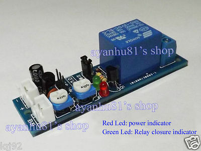 DC5V 12V Multifunction Timing Delay Cycle Timer Switch Relay Module Time 1s-120m