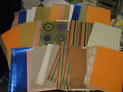 350gsm  of  Assorted A5 Craft  card & Paper Stock [approx 70 sheets ]
