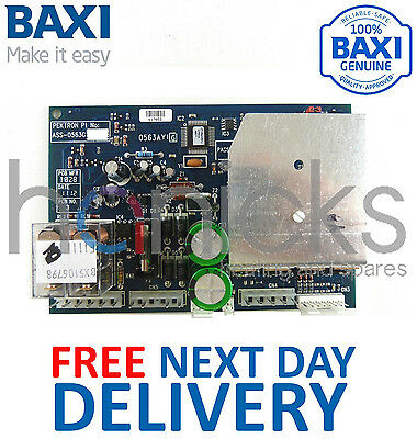 Baxi 100 HE, Barcelona Electronic Control PCB 5106798 5107072 Genuine Part *NEW*
