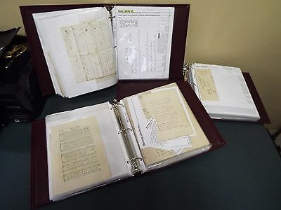 Hymns and Hymn Writer Archive - 100+ Items - Signed and Documents - Bible