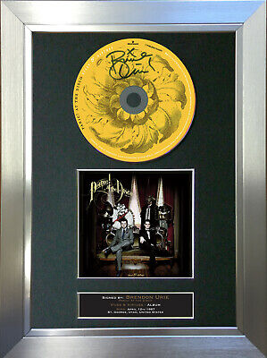 PANIC AT THE DISCO Vices & Virtues ALBUM Signed Autograph CD Mounted Print 71