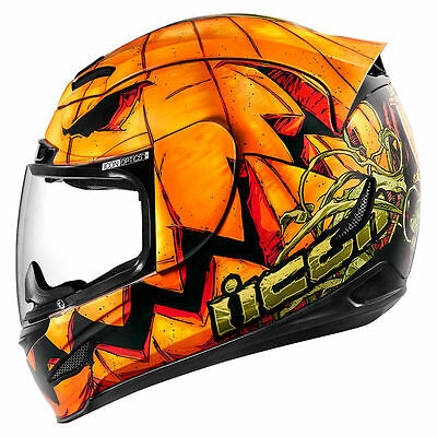 *Ships Within 24 hrs* ICON Airmada (Trick or Street) Motorcycle Helmet