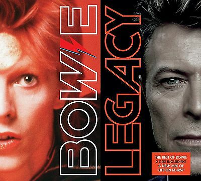 DAVID BOWIE - Legacy (The Very Best Of David Bowie 2 CD) (FREE UK P&P)