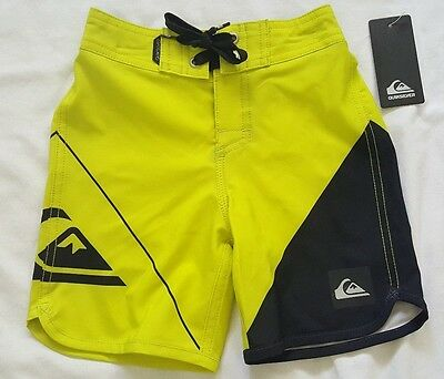 ae80d26d86 TODDLER BOYS QUIKSILVER Board shorts Swim Size 2T NEW boardshorts  Quicksilver