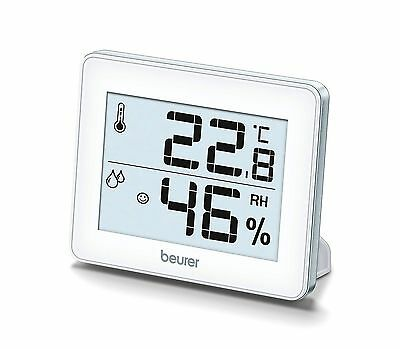 Beurer HM16 Thermo Hygrometer | Silver | BRAND NEW