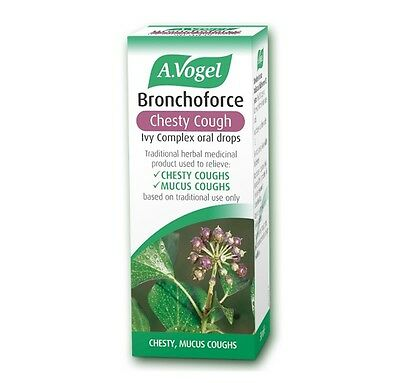 A Vogel Bronchoforce Chesty Cough Ivy Complex