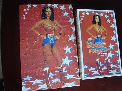 Vintage 1978 Lynda Carter Wonder Woman Jigsaw Puzzle Complete in Box 200 pieces