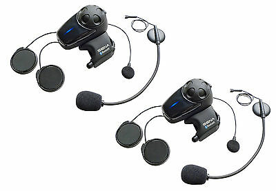 SENA SMH10 Motorcycle Bluetooth Communication System Universal Microphone DUAL
