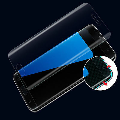 TPU Case &Full Cover Tempered Glass Screen Protecter For Samsung S6 edge/S7 edge
