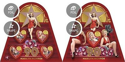 Z08 IMPERFORATED CA16615ab CENTRAL AFRICA 2016 Marilyn Monroe MNH Set