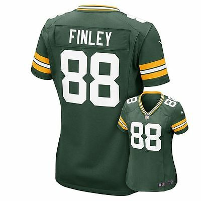 NEW NIKE Women Green Bay Packers J. Finley #88 Home NFL Football Jersey $95