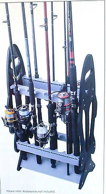 Jarvis Walker Rod Storage Stand holds 16 Fishing Rods BRAND NEW