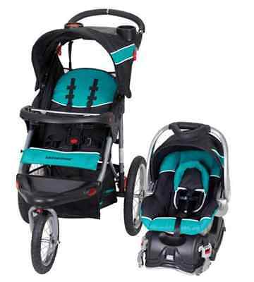 Car Seat Stroller Travel System Baby Trend Expedition Jogger Infant Sturdy NEW