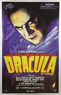 Vintage Sideshow Collectibles 12 inch Dracula Figure Bela Lugosi Mint in Box!