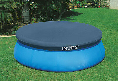 8 Foot Easy Set Pool Cover, Suits 8 Foot Inflatable Ring Pools Bestway etc New!
