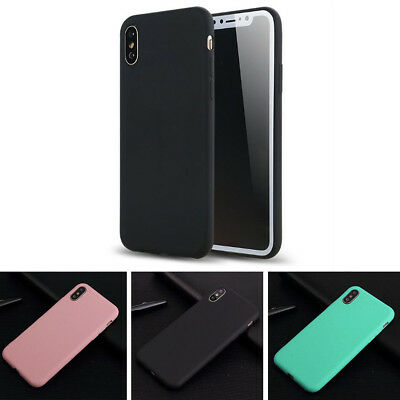 Ultra-Thin Soft Silicone Rubber Skin Back Case Cover for iPhone 6 6s 7 7 Plus
